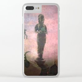 We Can't See Through Her, But She Lets The Light In Clear iPhone Case