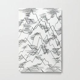 The lakes Metal Print