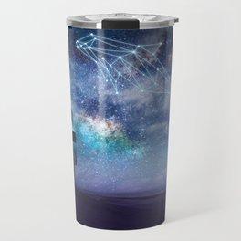Constellation of the Dolphin by GEN Z Travel Mug