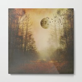 mOOn meaDow Metal Print