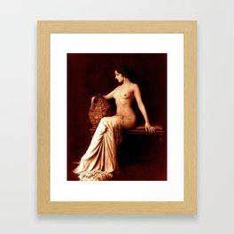 Dorothy Knapp Vintage Sophistication Framed Art Print
