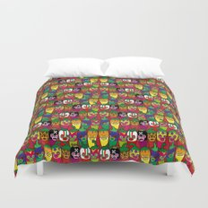 Red Hot Chili Pattern 02 Duvet Cover