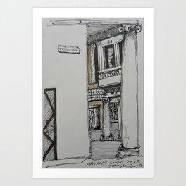 Penalver St Havana Art Print