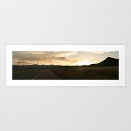 Clouds over Cimarron Art Print
