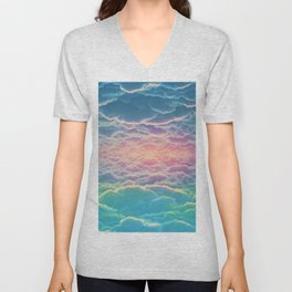 INSIDE THE CLOUDS Unisex V-Neck