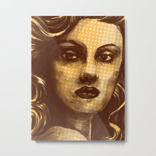 sweet face Metal Print