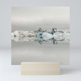 Jokulsarlon Iceland - Minimalist Landscape Photography Mini Art Print