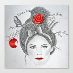 Snow White II Canvas Print