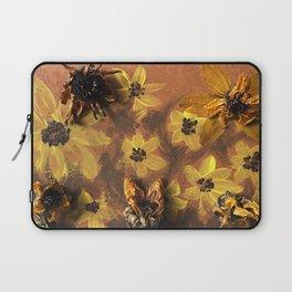 Sunflower Garden Artwork Laptop Sleeve