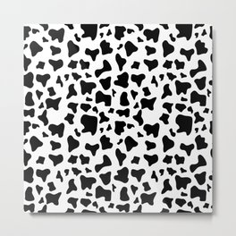 Cow pattern Metal Print