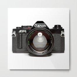 Canon AV-1 Camera Style Metal Print