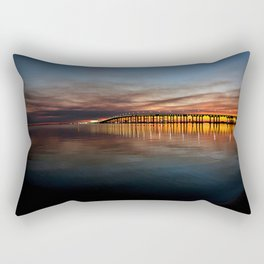 In The Stillness Rectangular Pillow