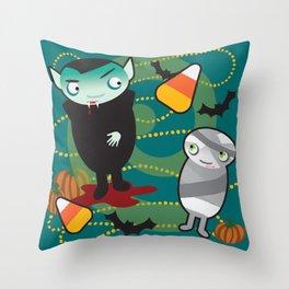 VooDoo Vampire Throw Pillow