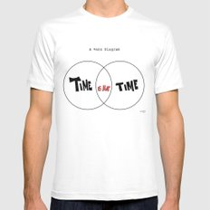 the Truth MEDIUM Mens Fitted Tee White
