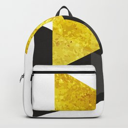 Metal triangle abstract - Metal sign - The Five Elements Backpack