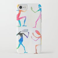 asexual iPhone & iPod Cases featuring Human Transitioning by aalexhayes