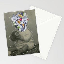 8bit Face Stationery Cards