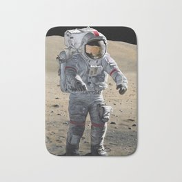 The Last Man on the Moon Bath Mat