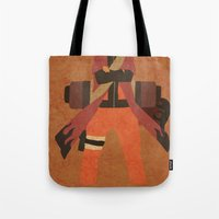 naruto Tote Bags featuring Sage Naruto by JHTY