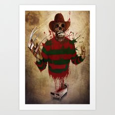 A Nightmare on my Street Art Print