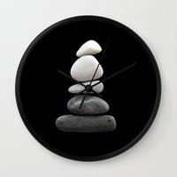 balance Wall Clocks featuring balance by ARTbyJWP