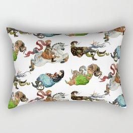 Magicians and their pets -pattern- Rectangular Pillow