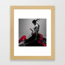 god of the sword Framed Art Print