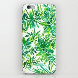 GREEN CANOPY iPhone Skin