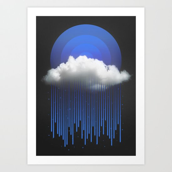 Rainy Daze Art Print