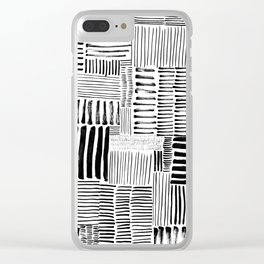 Dashed Clear iPhone Case