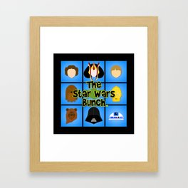 The Bunch Framed Art Print