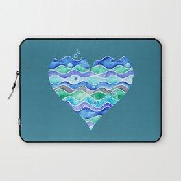 A Sea of Love (blue) Laptop Sleeve