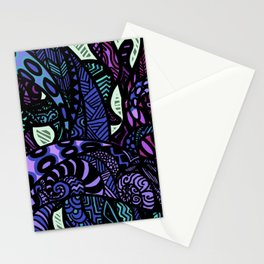 Tentacle Zentagle Stationery Cards