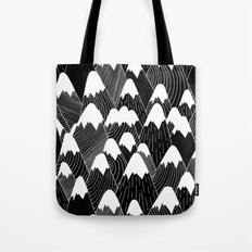 Snow Tops Pattern Tote Bag