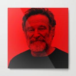 Robin Williams - Celebrity (Photographic Art) Metal Print