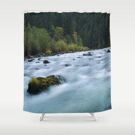 Stillness In Motion Shower Curtain