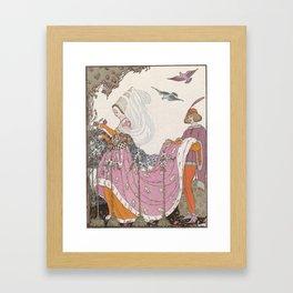 Cover of The Garland art magazine Framed Art Print