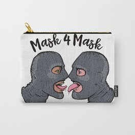 Mask 4 Mask - version 3 Carry-All Pouch