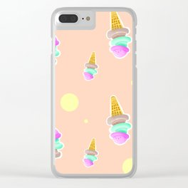 Icecream Clear iPhone Case