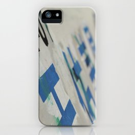 Chinatown Wall iPhone Case