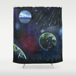 STARRY Shower Curtain