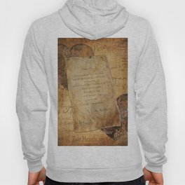 Two Hearts are One - Vintage Romantic Steampunk Art Hoody