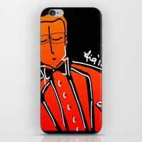 dad iPhone & iPod Skins featuring Dad by FiG_