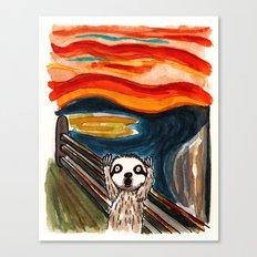 Sloth's Scream  Canvas Print
