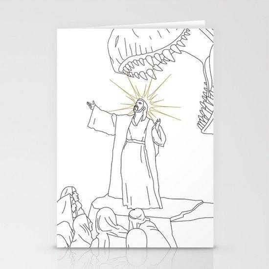 Jesus, Etc. (Alt) Stationery Cards