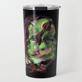 Gamora (oil on canvas) Travel Mug
