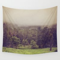 wanderlust Wall Tapestries featuring Wanderlust by Dena Brender Photography