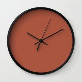 Geometry ~ Tawny Wall Clock