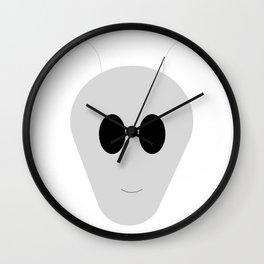 Alien face Wall Clock
