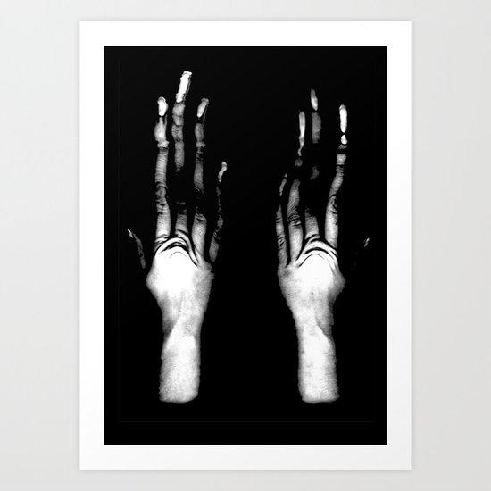Fingers #1 Art Print